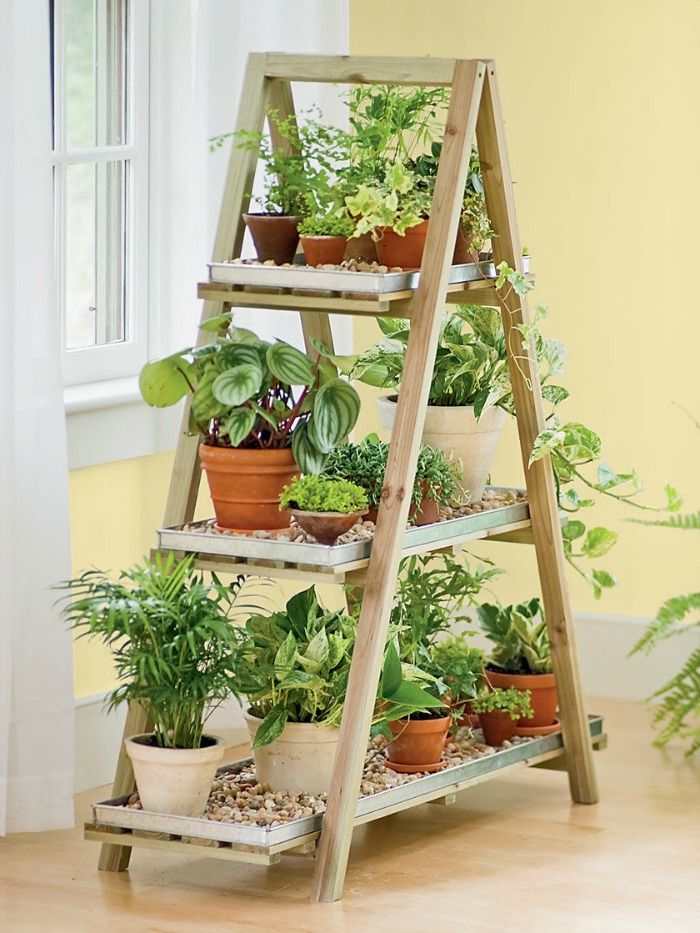 stepladder vertical planter
