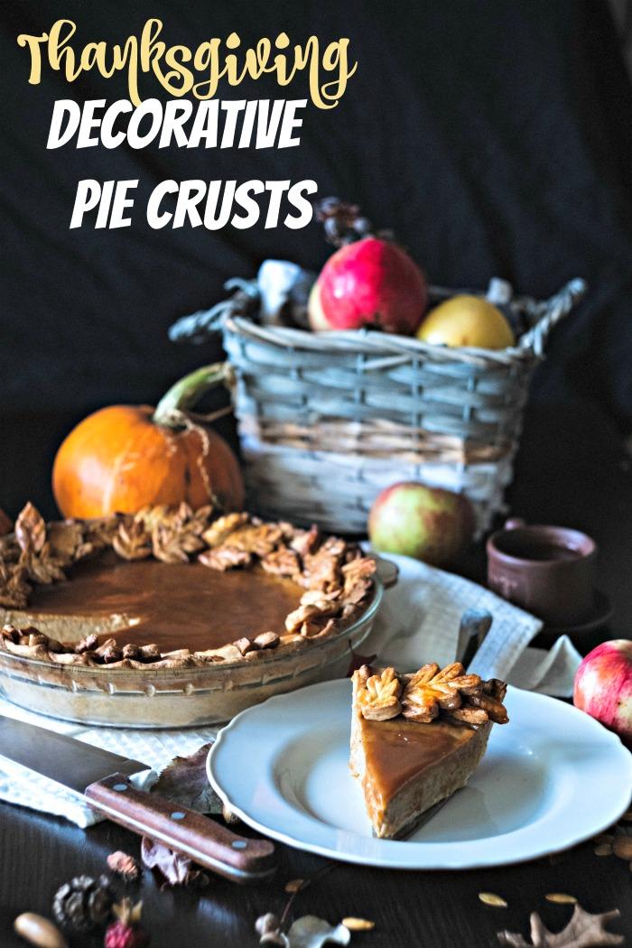 Thanksgiving decorative pie crust ideas