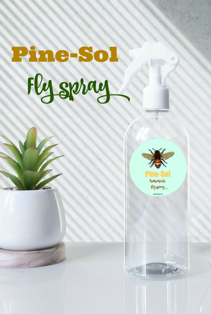 homemade fly repellent spray