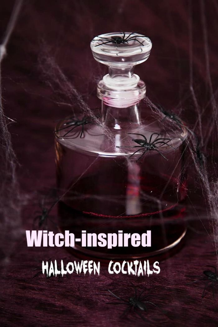 Cocktails for Halloween with a Witch themed name