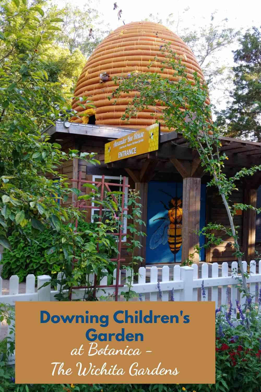 Alexander Bee House at the Downing Children's Garden in Wichita.
