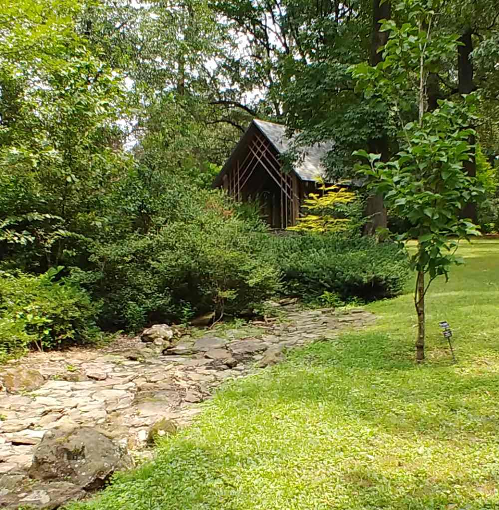 Blecken Pavilion Memphis Botanic Garden in Tennessee.