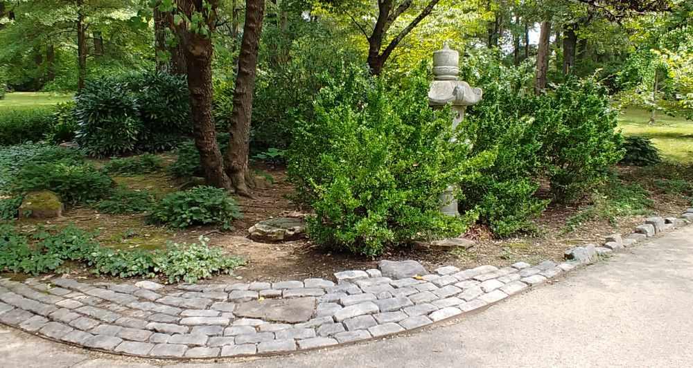 Scenic walk at the Memphis Botanic Garden.