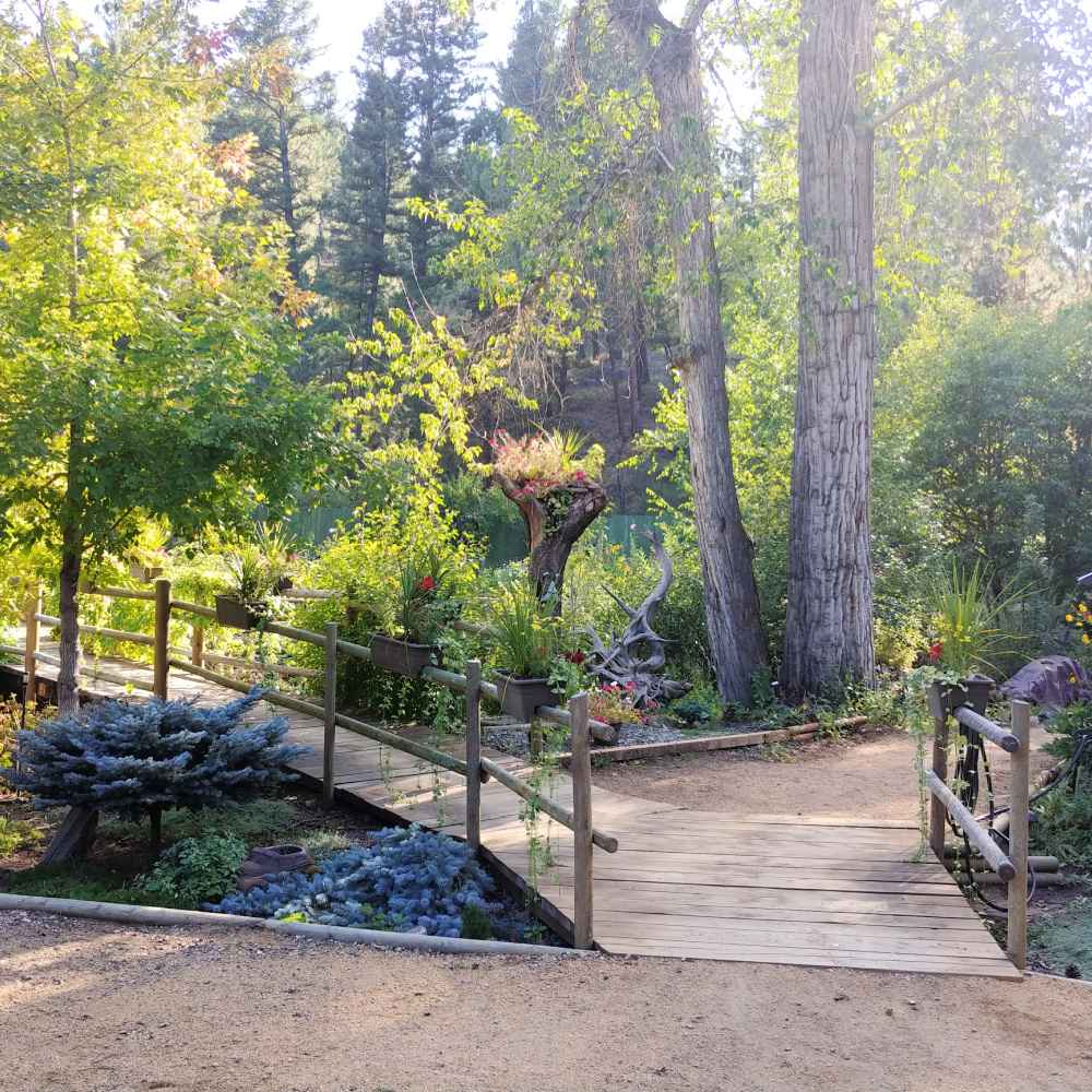 Tizer Botanic Garden in Jefferson City, Montana.